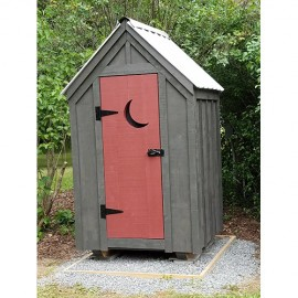 4x4 Outhouse Shed - Custom exterior