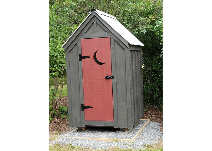 ... 4x4 Outhouse Shed - Custom exterior ...