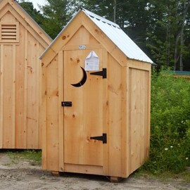 4x4 Outhouse Shed - Exterior