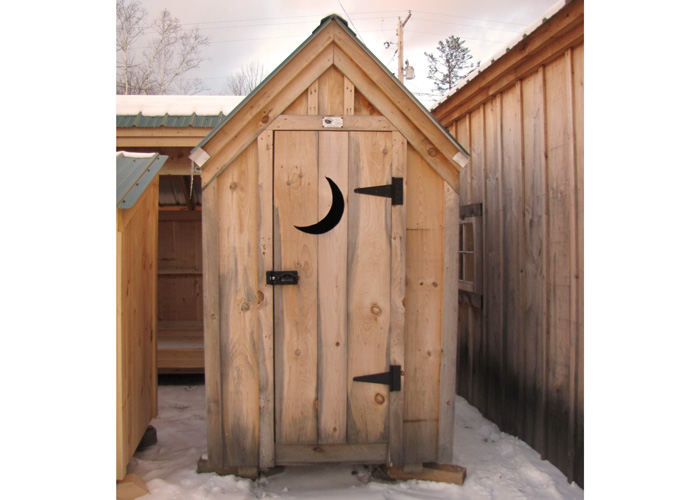 4x4 Outhouse Shed 4x4 Outhouse Shed 4x4 Outhouse Shed - Exterior ...