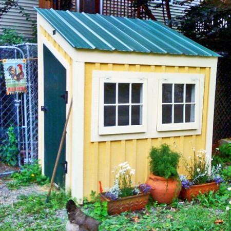 4x6 Chicken Coop - Exterior