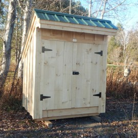 4x6 Saltbox - Exterior