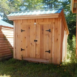 4x8 Saltbox - Clearance storage shed