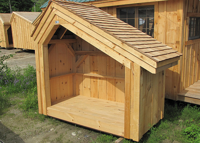 Outdoor firewood storage firewood storage shed plans for Wood storage building plans