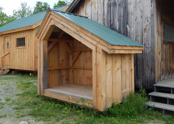 Outdoor Firewood Storage Firewood Storage Shed Plans