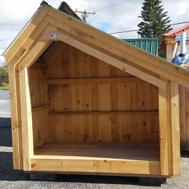 4x8 Hearthstone - build a one cord firewood shed