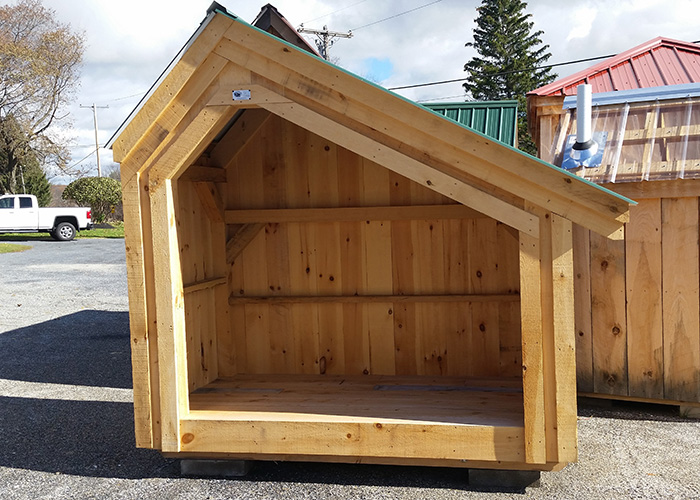 Outdoor Firewood Storage | Firewood Storage Shed Plans