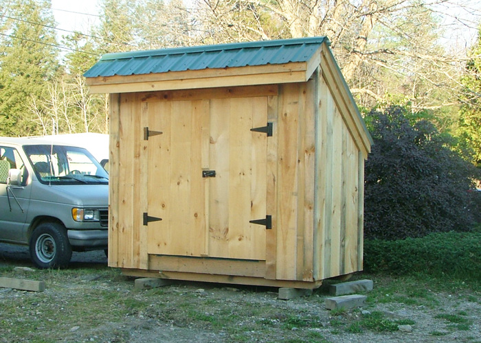 Small tool shed 4x8 shed wooden tool shed plans for for Saltbox barn