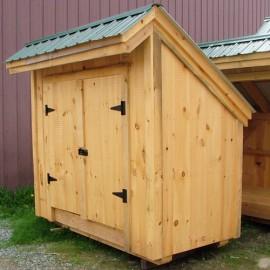 4x8 Saltbox - Exterior