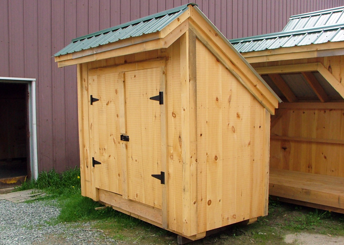Small Tool Shed 4x8 Wooden Plans For