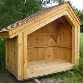 4x8 Hearthston - Cedar Shingle Roofing Upgrade