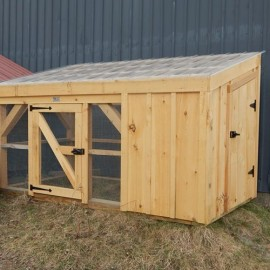 5x10 Chicken Coop - inventory display model