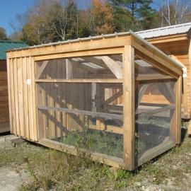 5x10 Chicken Coop - Exterior