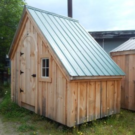 6x10 Hardware Shed - discounted playhouse