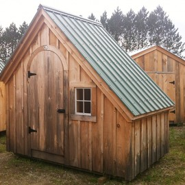 6x10 Hardware Shed - Exterior