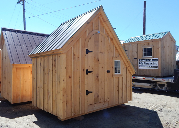 Post And Beam Shed Timber Frame Shed 6x10 Shed