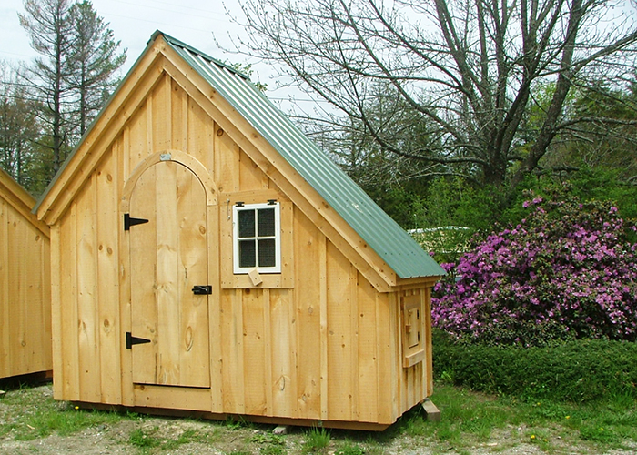 6x10 hardware shed exterior