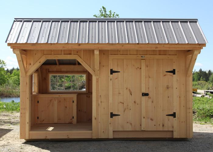 Potting sheds for sale potting shed kits jamaica for Prefab work shed