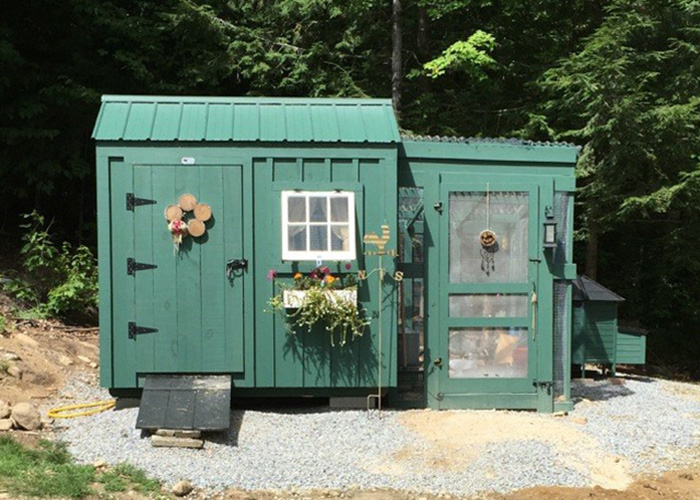 Delightfully noted crush of the month dreamy garden sheds aka backyard retreats find this pin - Garden sheds oregon ...