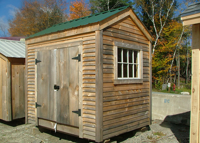 6x8 sheds 6x8 shed plans post and beam sheds for Small shed kits