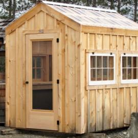 6x8 Greenhouse - Exterior