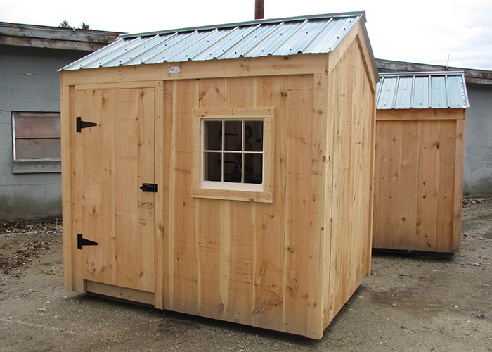 6x8 sheds 6x8 shed plans post and beam sheds for Storage shed kits