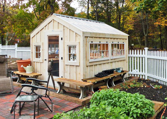 ... Garden Sheds And Greenhouse Combinations