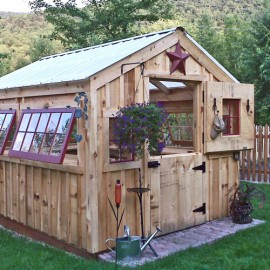 8x10 Greenhouse - Custom Exterior