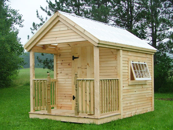 Prefab cabin kits cabin kit homes prefab guest cottage for Small shed kits