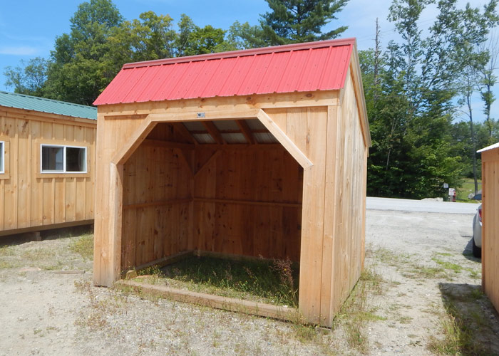 Wood Horse Shelter : Horse run in shed kits shelter sheds