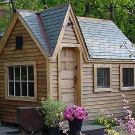 8x12 Dollhouse - Custom built playhouse