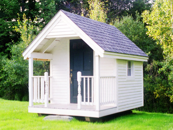 8x12 Garden Shed - Nook