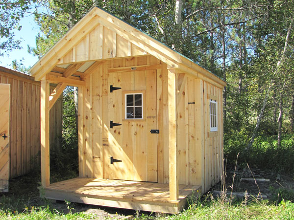 8x12 Nook - Can be placed on a trailer to use as a portable home.