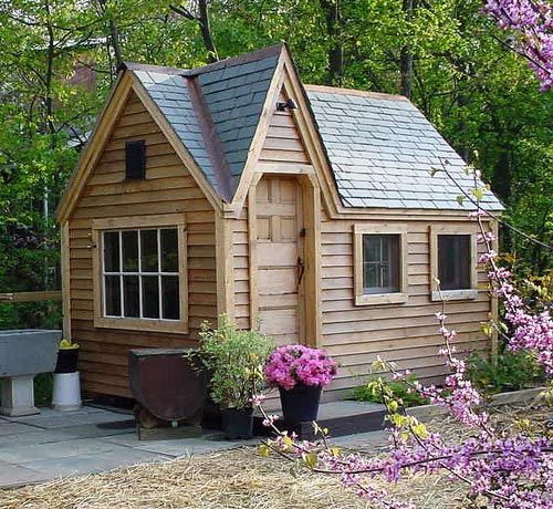 Wooden Play House For Kids Jamaica Cottage Shop
