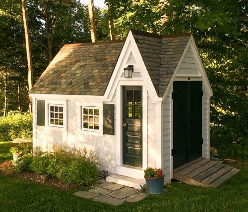 8x12 Customized Dollhouse - Exterior, diy shed kit