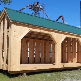 8x20 Woodbin - Exterior