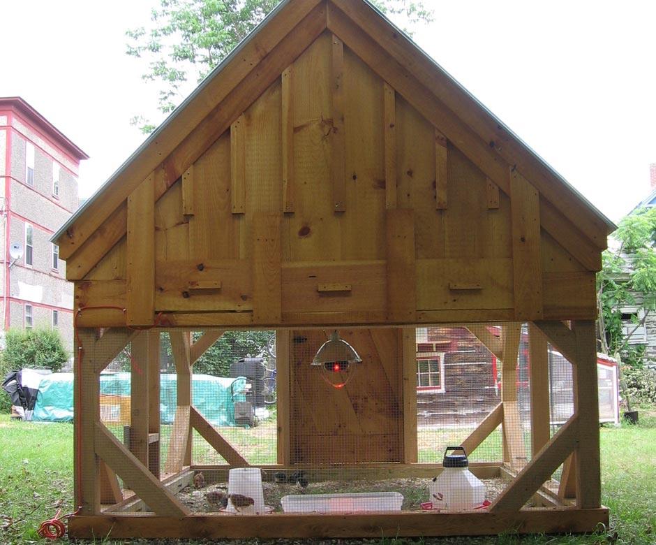 8x8 chicken coop