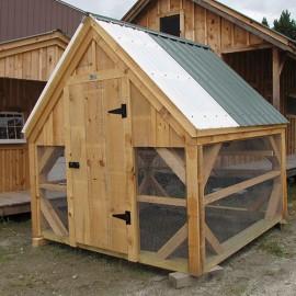 8x8 Chicken Coop - Exterior