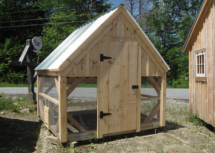 Prefab chicken coops for sale chicken shed plans for Chicken coop for 8 10 chickens