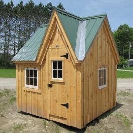 8x8 Dollhouse - exterior