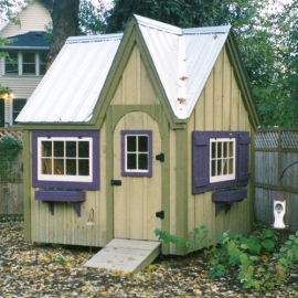 8x8 Dollhouse - custom exterior