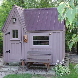 8x8 Dollhouse - custom built playhouse