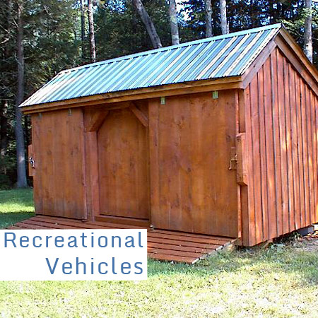 Wooden barns for sale garage building kits wood garage for Atv shed plans