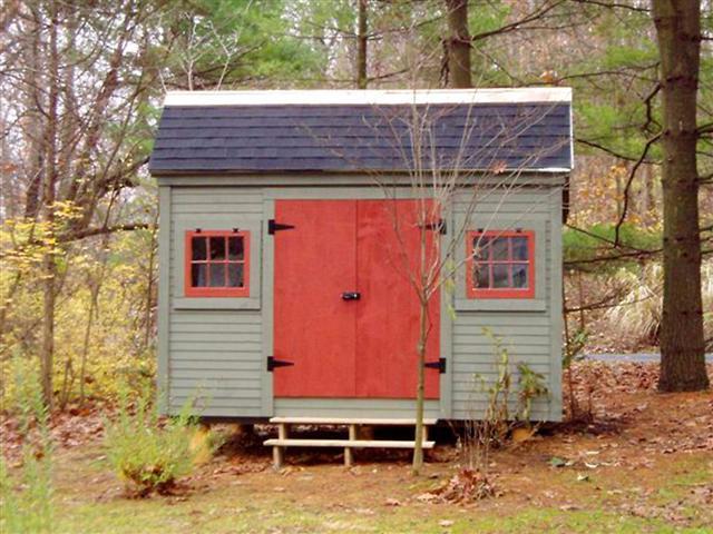 Church Street - Custom Exterior, wood shed kit