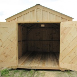 10x14 New Yorker - Exterior shown upgraded with battens