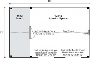 Home Office Floor Plan
