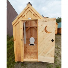 4x4 Working Outhouse - interior