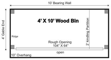 Woodshed Floor Plan