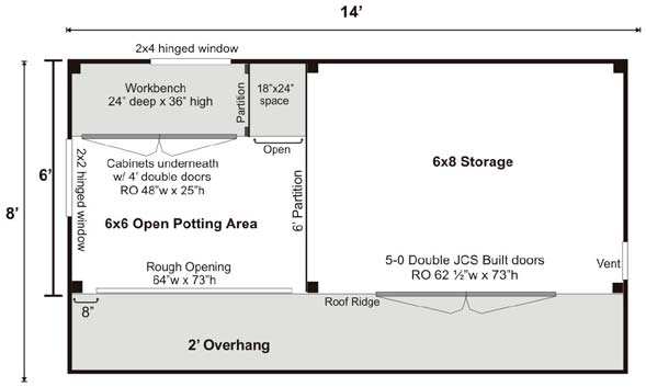 weston potting house floor plan