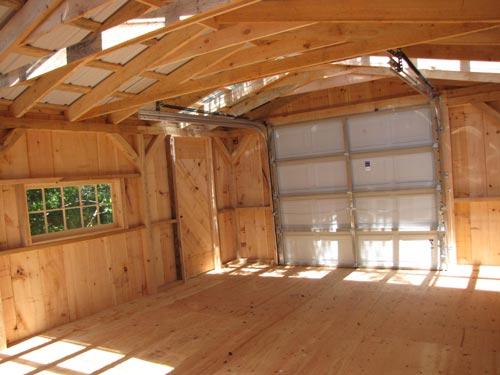Barn Garage Interior : One bay garage jamaica cottage shop